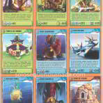 Cartas Invizimals de la 352 a 360