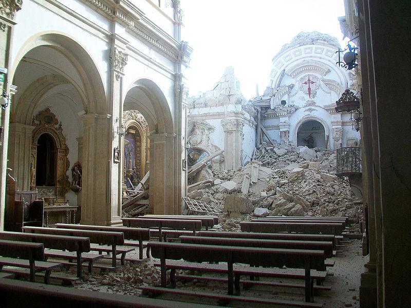 Lista de terremotos y tsunamis importantes en espa a - Lorca murcia fotos ...