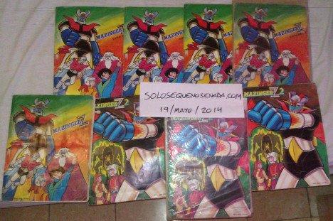 8 albums de Mazinger Z
