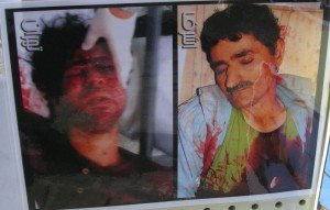Mimbros de la oposición Iraní asesinados por la policia de Irak.