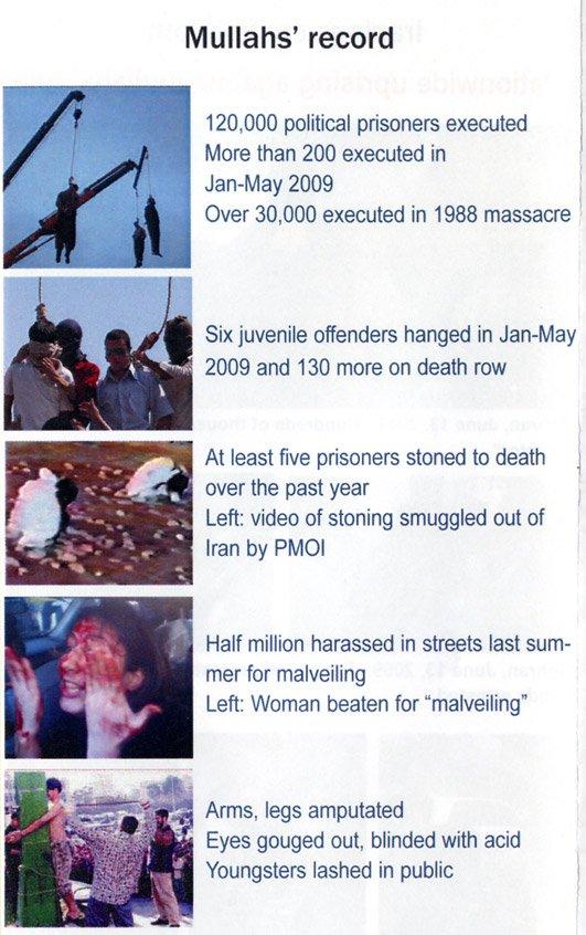 Esto ocurre en Irán, pero la prensa occidental parece que no se entera.