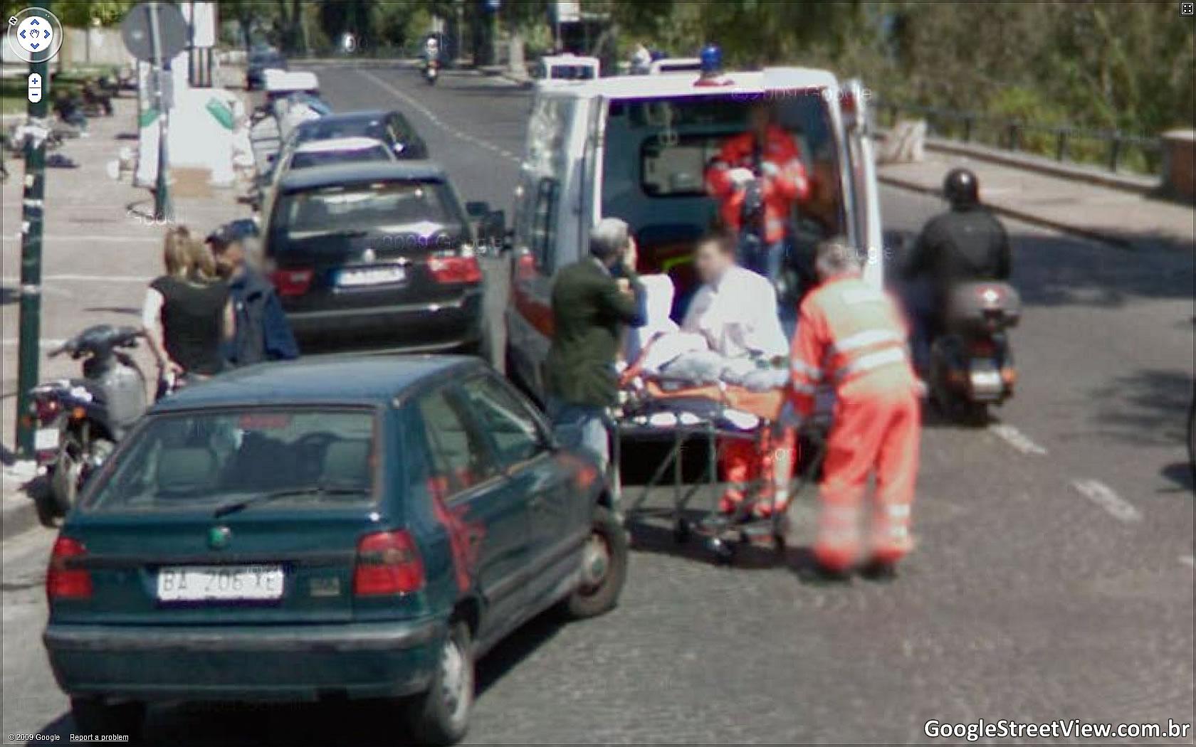 Fotos de ambulancias en accidentes 94