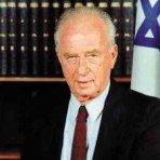 Isaac Rabin, para mi el mejor presidente que ha tenido Israel. Le asesinó un sionista radical en 1995.