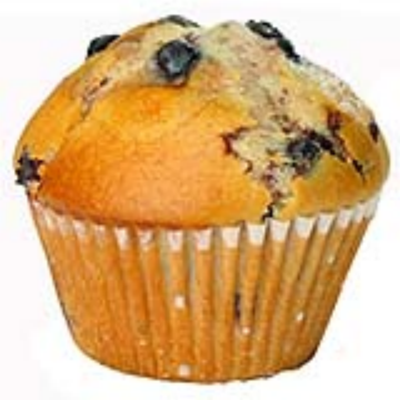 Esto es un Muffin. Es España lo llamamos magdalena con tropezones.