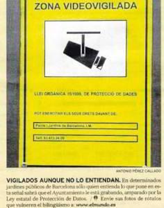 Discriminación del castellano en Cataluña