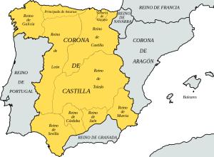 corona de castilla año 1400