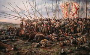 Guerra de los 30 años, Batalla de Rocroi por Augusto Ferrer Dalmau
