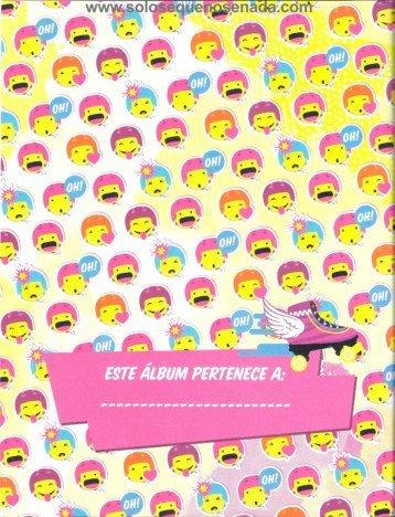 Detras de la portada del álbum Soy Luna